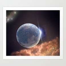 Beyond Infinity | Perilous terraforming Art Print