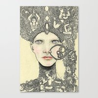 The Queen Canvas Print