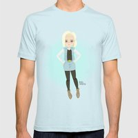 Android C-18 Mens Fitted Tee Light Blue SMALL