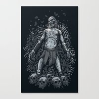 Winter Is Here Canvas Print