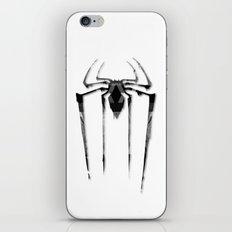 Amazing Spiderman B/W iPhone & iPod Skin