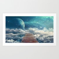 View From The Pier Art Print