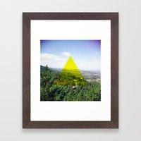 Holga - Raconte moi Framed Art Print