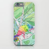 iPhone & iPod Case featuring Trying to Fit in by Catherine Holcombe