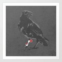 You've Got A Raven Art Print