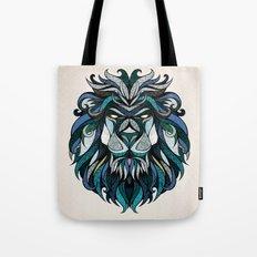 Blue Lion Tote Bag