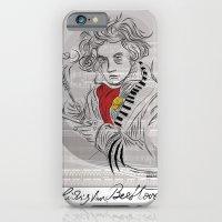 Beethoven In Musica iPhone 6 Slim Case