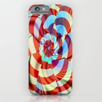 iPhone & iPod Case featuring Red White and Blue by Deborah Benoit