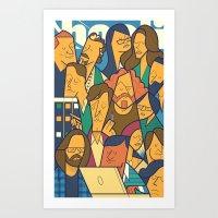 Silicon Valley Art Print