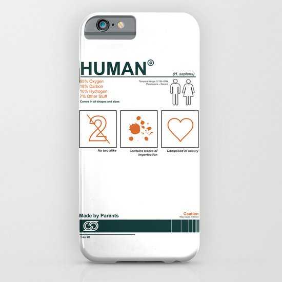 100 percent human iPhone & iPod Case
