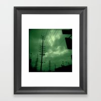 Urban Lines Framed Art Print
