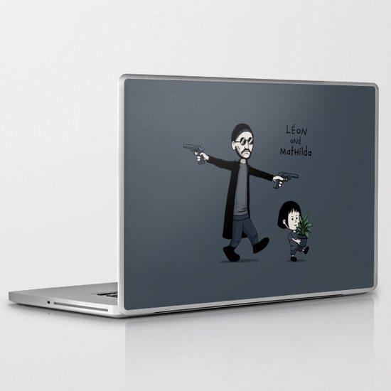 Leon and Mathilda Laptop & iPad Skin
