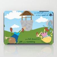 Jack & Jill iPad Case