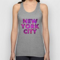 New York City - Color Unisex Tank Top