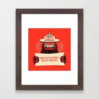 Ranger Cornelius Says... (swears) Framed Art Print