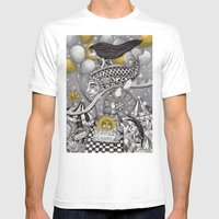 Roller Coaster Ride Mens Fitted Tee White SMALL