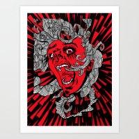 Living Dead Girl.  Art Print