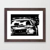 Cars #3 Framed Art Print