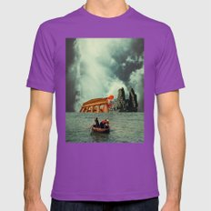 We Are All Fishermen Mens Fitted Tee Ultraviolet SMALL