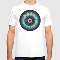 Cosmos Mens Fitted Tee White SMALL