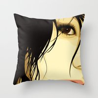 The Tale Of A Girl Throw Pillow