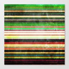 Vintage Stripes Canvas Print