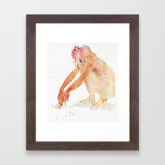 small piece 21 Framed Art Print