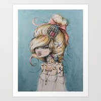 My Caged Heart Art Print