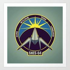 The Lylat Space Academy Art Print