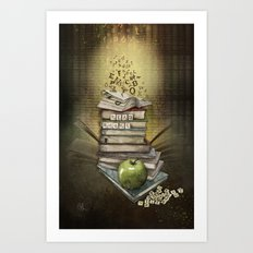 Read Books Art Print