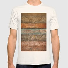 Mapas Mens Fitted Tee Natural SMALL
