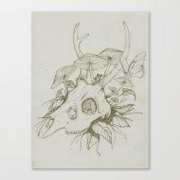 Dead Spring Canvas Print