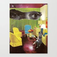 Eyes across the Universe Canvas Print