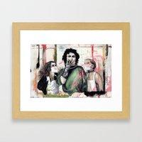 The Rocky Horror Picture… Framed Art Print