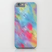 iPhone & iPod Case featuring Wrinkle Pixel by Katie Troisi