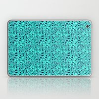 Turquoise and Blue  Laptop & iPad Skin