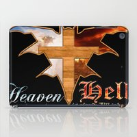 Heaven & Hell Bat iPad Case