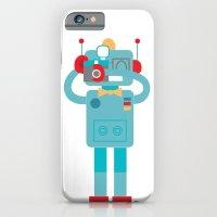 Robot Loves Diana iPhone 6 Slim Case