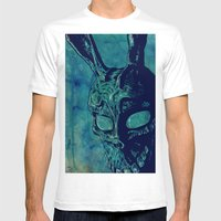 Donnie Darko Mens Fitted Tee White SMALL