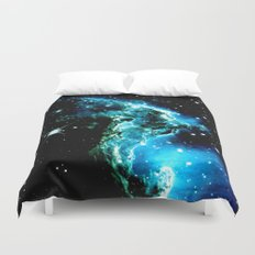 galaXY Monkey Head Nebula Duvet Cover
