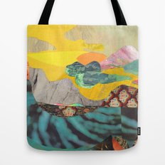 Yellow Sky Tote Bag
