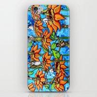 Sunflower Sock Hop iPhone & iPod Skin