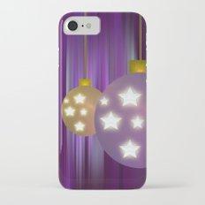 Christmas Balls iPhone 7 Slim Case
