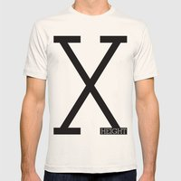 X-Height Mens Fitted Tee Natural SMALL