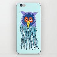 The Owl Of Cthulu iPhone & iPod Skin