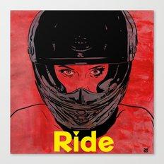 Ride / title Canvas Print