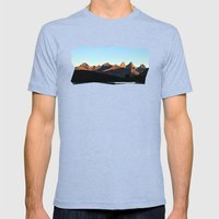 Daybreak Mens Fitted Tee Tri-Blue SMALL