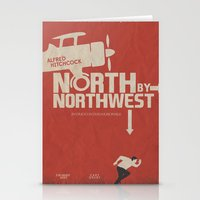 North By Northwest - Alf… Stationery Cards