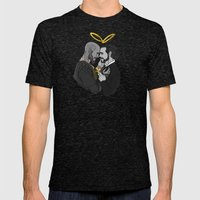 Wherever You Go, I Will … Mens Fitted Tee Tri-Black SMALL