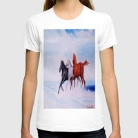 horses T-shirts featuring horses by shannon's art space